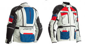 RST Adventure-X CE Jacket Blue Red